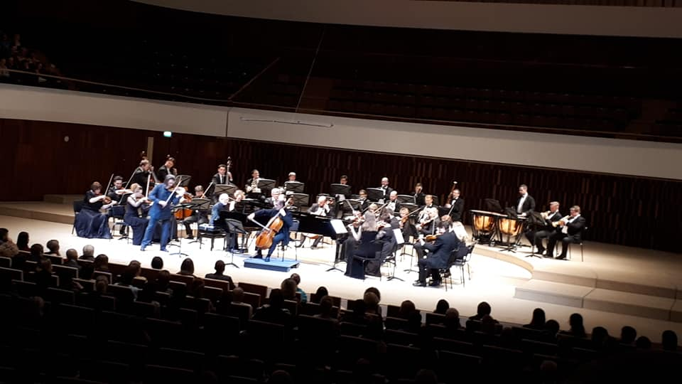 Dmitry Sinkovsky back to the Zaryadye Hall with Beethoven´s Triple Concert
